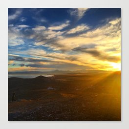 Utah Lake Canvas Print