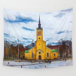Tallinn art 5 #tallinn #city Wall Tapestry