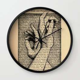 Pride & Prejudice, Page 142: Hands Wall Clock