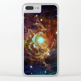 Variable Star Clear iPhone Case