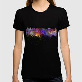 Le Havre skyline in watercolor background T-shirt