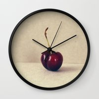 pin up Wall Clocks featuring pin-up by anitaa
