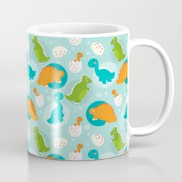Cute Dinosaurs Pattern - 1 Coffee Mug