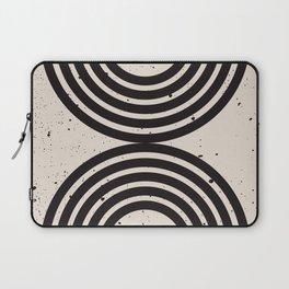 Grunge Geometric Print - art, interior, matisse, picasso, drawing, decor, design, bauhaus, abstract, Laptop Sleeve
