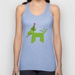 Party Animal-Green Unisex Tank Top