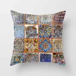 Oh Gaudi! Throw Pillow