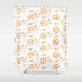 Spriton Echidna, Playful Pattern Shower Curtain