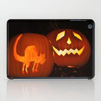 lanterns iPad Cases featuring Halloween Lanterns by Steve Purnell