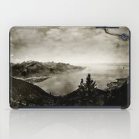 switzerland iPad Cases featuring Vintage Switzerland by breezy baldwin