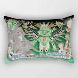 elephant kichina Rectangular Pillow
