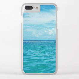 Ocean Breeze Clear iPhone Case
