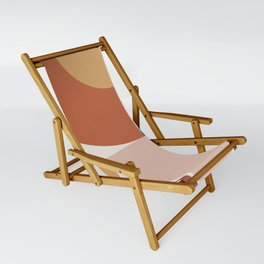 Abstract Geometric 13 Sling Chair