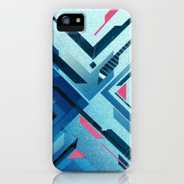 Geometric - Collage Love iPhone Case