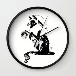 A Trick for a Treat Wall Clock