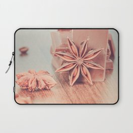 Anise, milk chocolate and coffee beans Laptop Sleeve