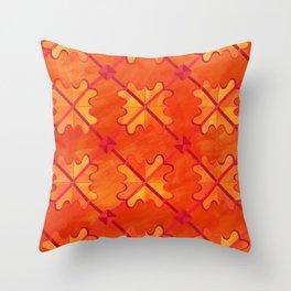 Sagittarius pattern Throw Pillow