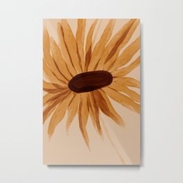 Sunflower Memory Metal Print