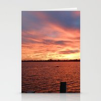 florida Stationery Cards featuring Florida Sunset by minx267