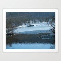 Winter Wonderland #1  Art Print