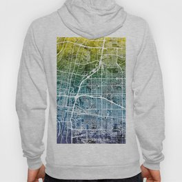 Albuquerque New Mexico City Street Map Hoody
