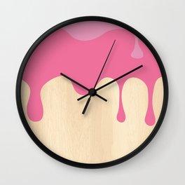 Sundae Morning Wall Clock