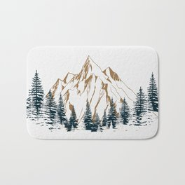 mountain # 4 Bath Mat