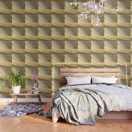 Agave Cactus on burlap cloth Wallpaper