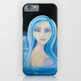 My Mermaid Friend Makielia iPhone Case