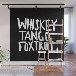 Whiskey Tango Foxtrot x WTF Wall Mural