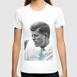 John F Kennedy Smoking T-shirt