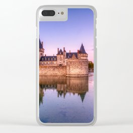 Sully sur Loire at sunrise, Loire valley, France. Clear iPhone Case