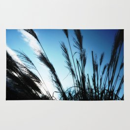 Feeling Free #1 #grasses #BlueSky #art #society6 Rug
