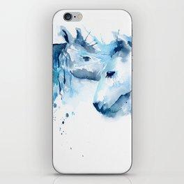 Watercolor Horse Love iPhone Skin