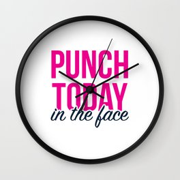 Punch Today Wall Clock