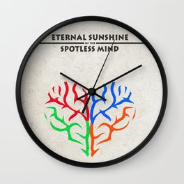 Eternal Sunshine of the Spotless Mind Alternate and Minimalist Poster Wall Clock
