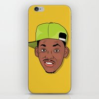 fresh prince iPhone & iPod Skins featuring Fresh Prince of Bel-Air by TheMohamz