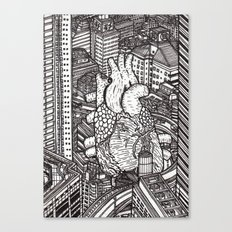 Tokyo Heart Canvas Print