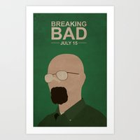 Breaking Bad Season Five Art Print