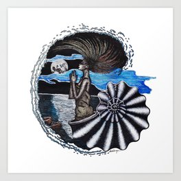 SEA SPIRIT Art Print