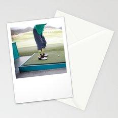 Golf Swing Stationery Cards