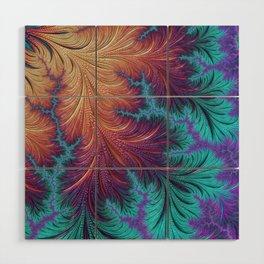 Kaleidoscope Wood Wall Art