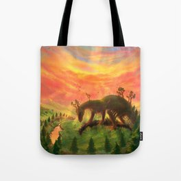 Uprooted Ancient Tote Bag