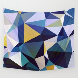 Abstract Geometric Triangle Pattern Wall Tapestry