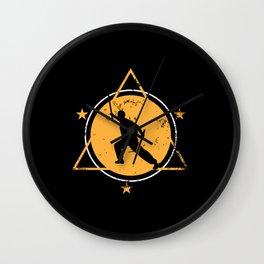eskrima, eskrima martial arts, filipino Wall Clock