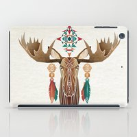 moose iPad Cases featuring moose by Manoou