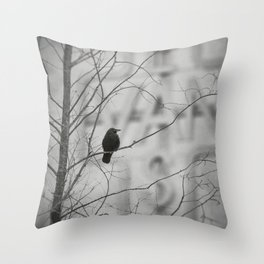 Vancouver Raincity Series - East Van Throw Pillow
