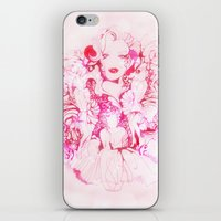 marylin monroe iPhone & iPod Skins featuring Marylin Monroe by FlowerMoon Studio