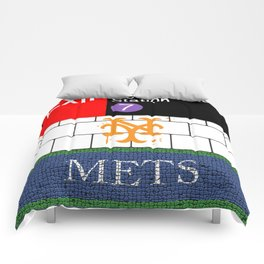 NYC Subway Comforters