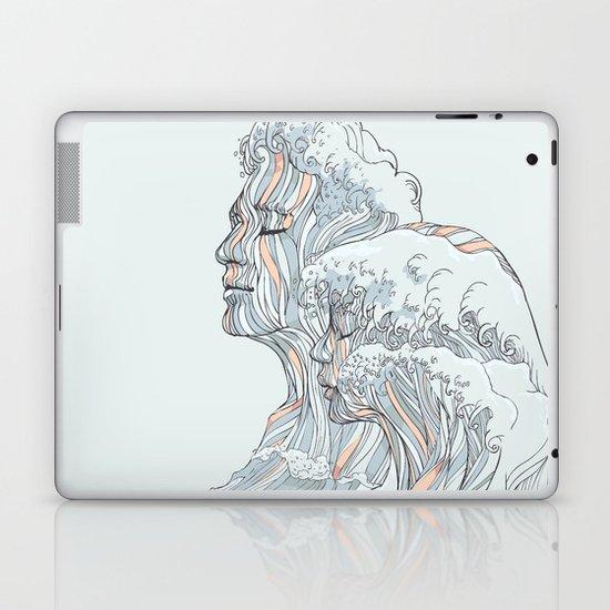 BREATHE DEEPLY Laptop & iPad Skin