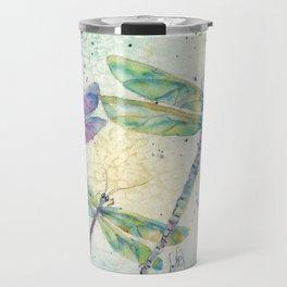 Xena's Dragonfly Travel Mug